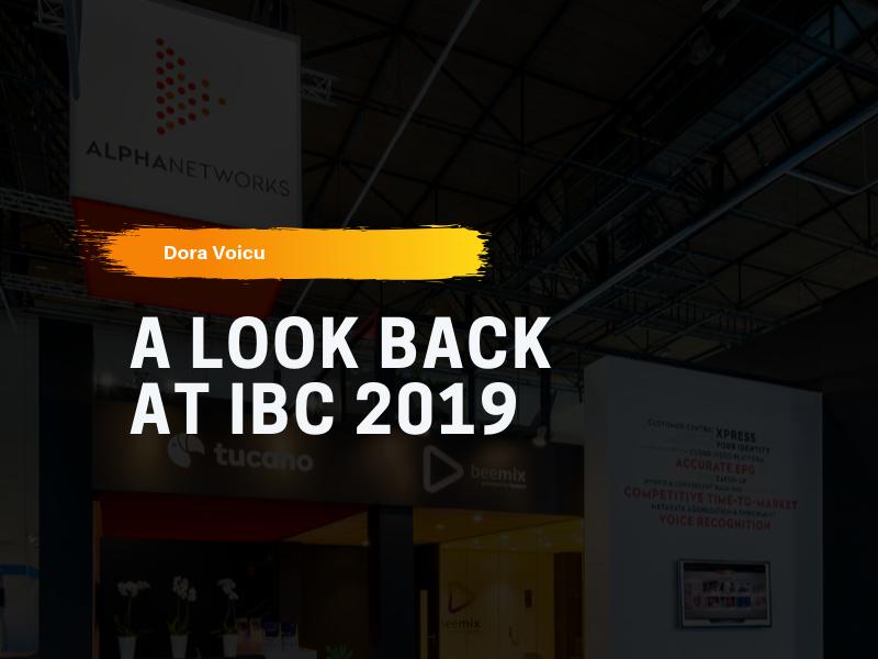 A look back at IBC 2019