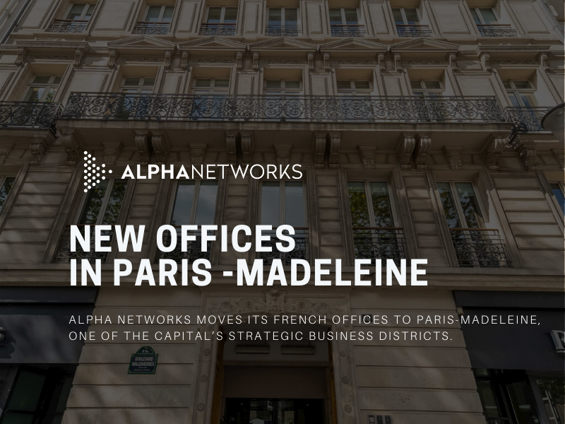Opening of new offices in Paris-Madeleine